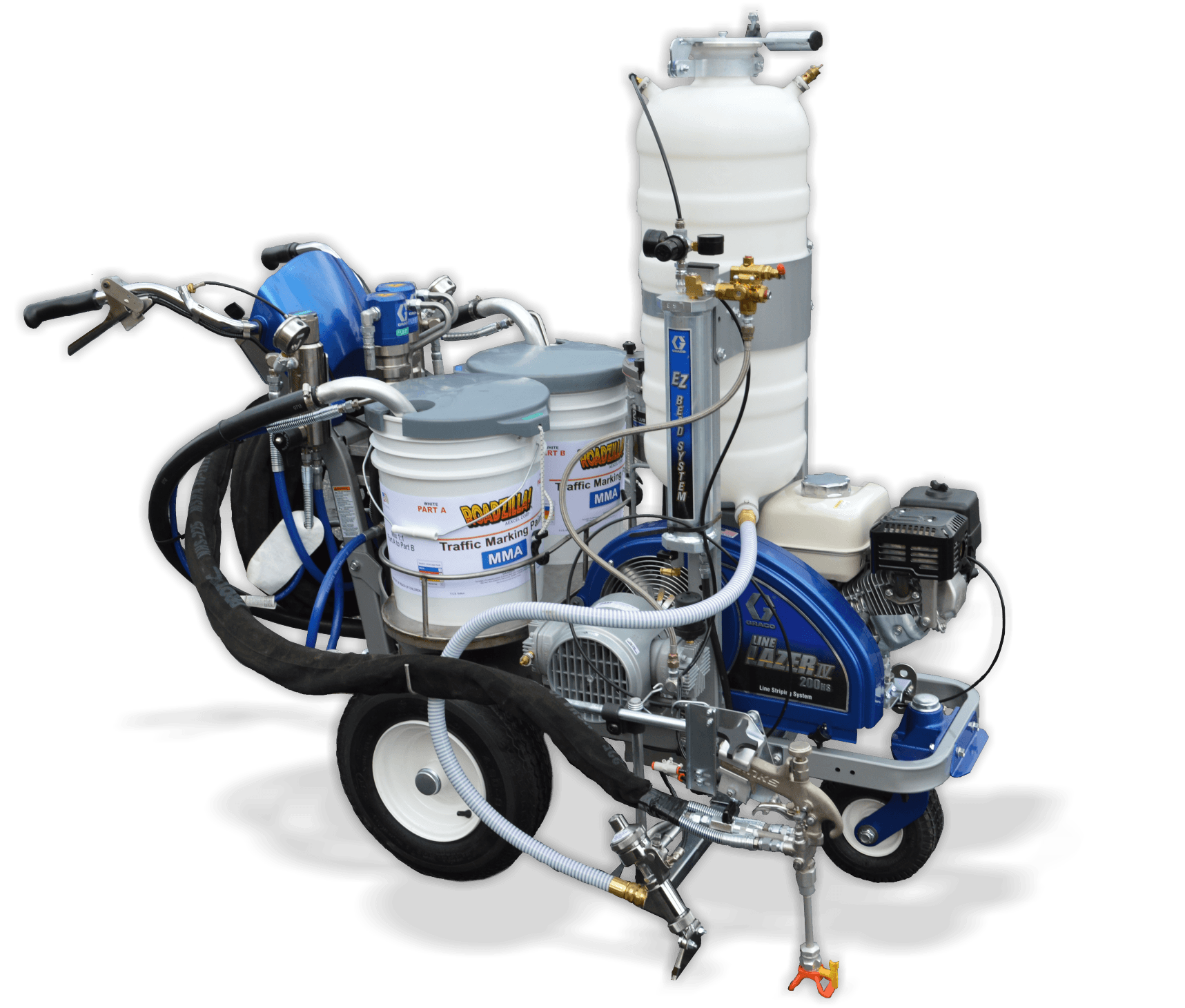 Rae S Modified Graco Plural Component 2 Pump 1 1 Hydraulic